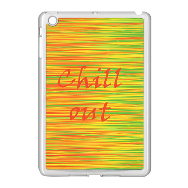 Chill out Apple iPad Mini Case (White)