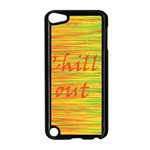 Chill out Apple iPod Touch 5 Case (Black) Front