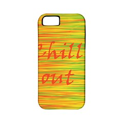 Chill Out Apple Iphone 5 Classic Hardshell Case (pc+silicone)