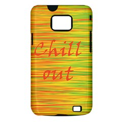 Chill out Samsung Galaxy S II i9100 Hardshell Case (PC+Silicone)