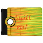 Chill out Kindle Fire HD Flip 360 Case Front