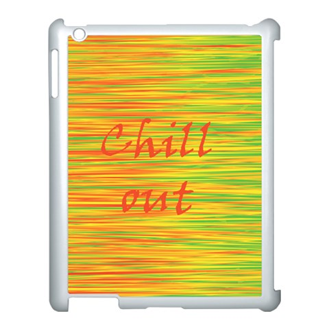 Chill out Apple iPad 3/4 Case (White)