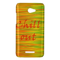Chill out HTC Butterfly X920E Hardshell Case