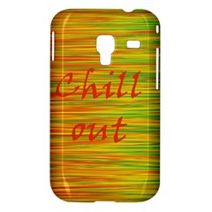 Chill out Samsung Galaxy Ace Plus S7500 Hardshell Case