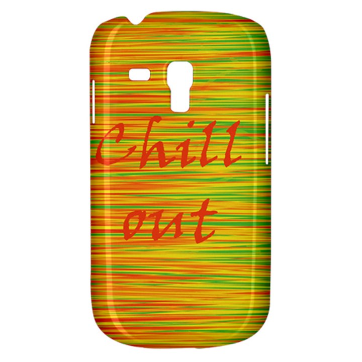 Chill out Samsung Galaxy S3 MINI I8190 Hardshell Case