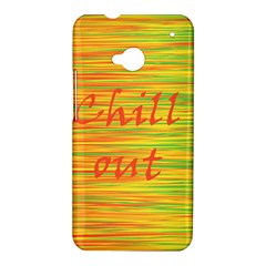 Chill out HTC One M7 Hardshell Case