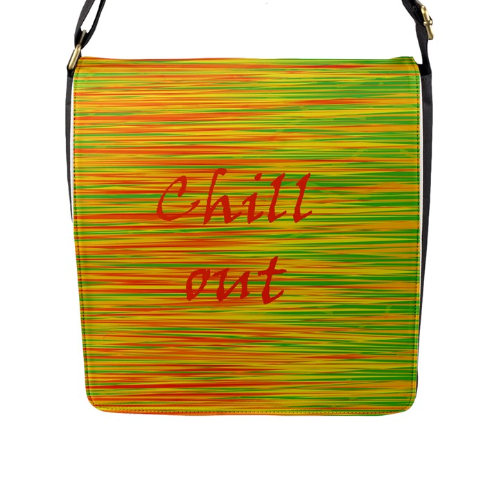 Chill out Flap Messenger Bag (L)