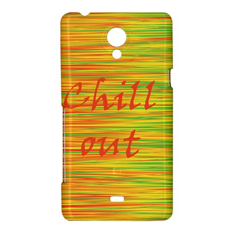 Chill out Sony Xperia T