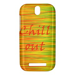 Chill out HTC One SV Hardshell Case