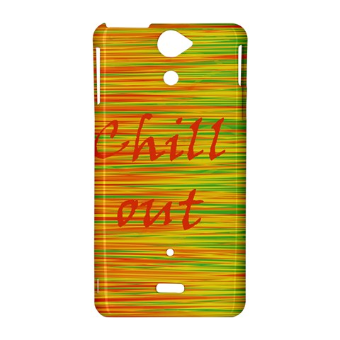 Chill out Sony Xperia V
