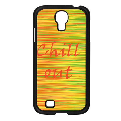 Chill out Samsung Galaxy S4 I9500/ I9505 Case (Black)