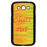Chill out Samsung Galaxy Grand DUOS I9082 Case (Black) Front