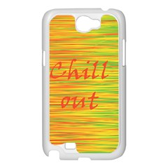 Chill out Samsung Galaxy Note 2 Case (White)