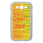 Chill out Samsung Galaxy Grand DUOS I9082 Case (White) Front