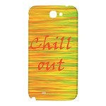 Chill out Samsung Note 2 N7100 Hardshell Back Case Front