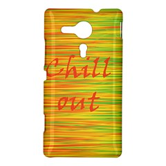 Chill out Sony Xperia SP