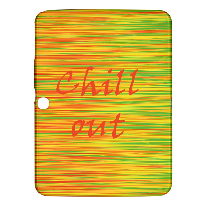 Chill out Samsung Galaxy Tab 3 (10.1 ) P5200 Hardshell Case