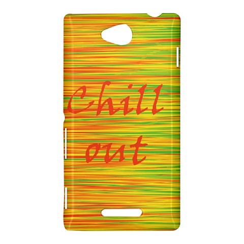 Chill out Sony Xperia C (S39H)