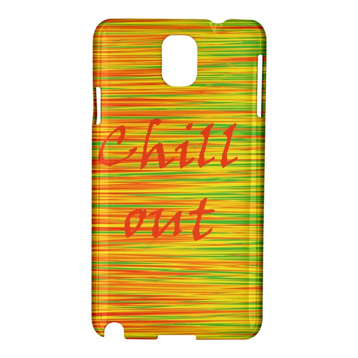 Chill out Samsung Galaxy Note 3 N9005 Hardshell Case