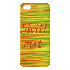 Chill Out Iphone 5s/ Se Premium Hardshell Case