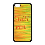 Chill out Apple iPhone 5C Seamless Case (Black) Front
