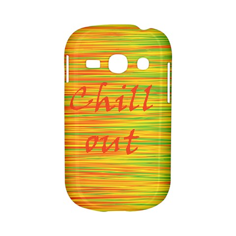 Chill out Samsung Galaxy S6810 Hardshell Case
