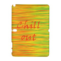 Chill out Samsung Galaxy Note 10.1 (P600) Hardshell Case
