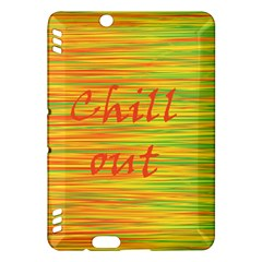 Chill out Kindle Fire HDX Hardshell Case