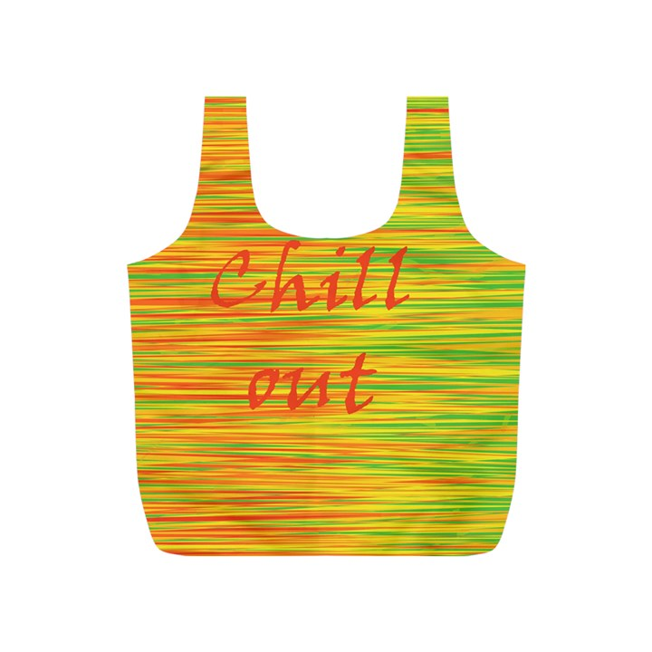 Chill out Full Print Recycle Bags (S)