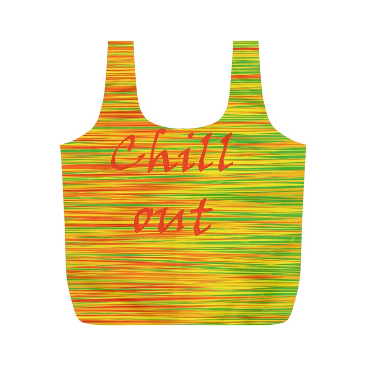 Chill out Full Print Recycle Bags (M)