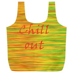 Chill out Full Print Recycle Bags (L)