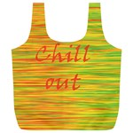 Chill out Full Print Recycle Bags (L)  Back