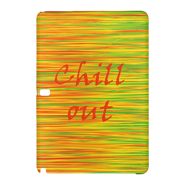 Chill out Samsung Galaxy Tab Pro 10.1 Hardshell Case