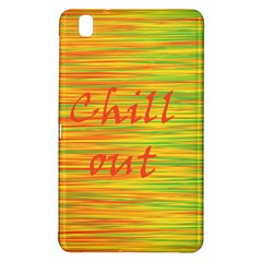 Chill Out Samsung Galaxy Tab Pro 8 4 Hardshell Case