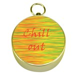 Chill out Gold Compasses Front