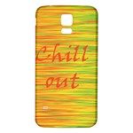 Chill out Samsung Galaxy S5 Back Case (White) Front