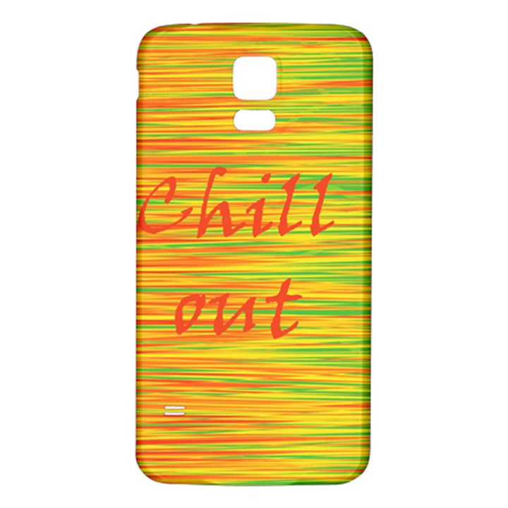 Chill out Samsung Galaxy S5 Back Case (White)