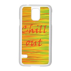Chill out Samsung Galaxy S5 Case (White)