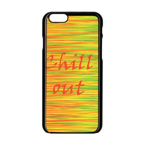 Chill out Apple iPhone 6/6S Black Enamel Case