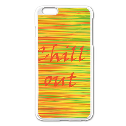 Chill out Apple iPhone 6 Plus/6S Plus Enamel White Case