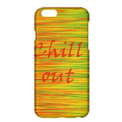 Chill Out Apple Iphone 6 Plus/6s Plus Hardshell Case