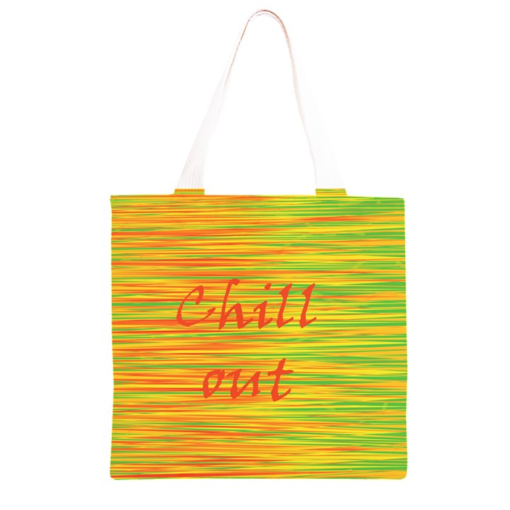 Chill out Grocery Light Tote Bag