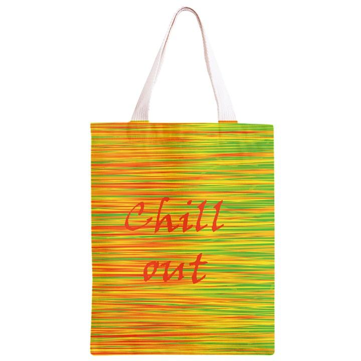 Chill out Classic Light Tote Bag