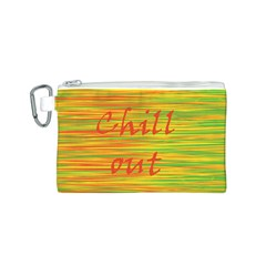 Chill out Canvas Cosmetic Bag (S)