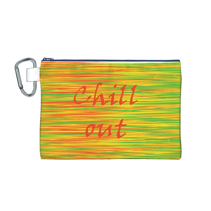 Chill out Canvas Cosmetic Bag (M)