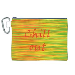 Chill out Canvas Cosmetic Bag (XL)