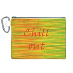Chill out Canvas Cosmetic Bag (XL) Front