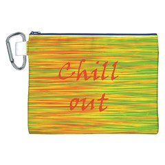Chill Out Canvas Cosmetic Bag (xxl)