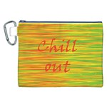 Chill out Canvas Cosmetic Bag (XXL) Front