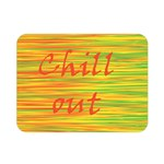 Chill out Double Sided Flano Blanket (Mini)  35 x27 Blanket Back